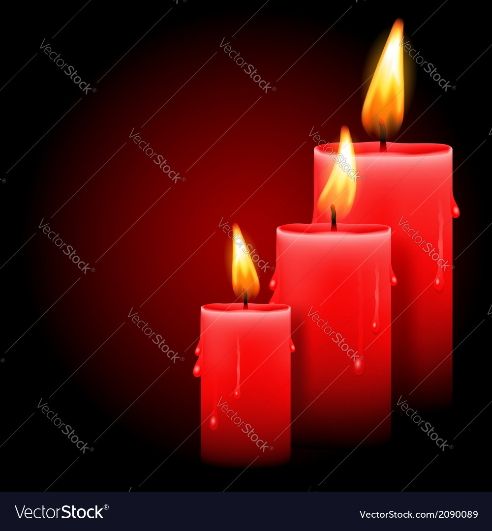 Candles vector | Price: 1 Credit (USD $1)