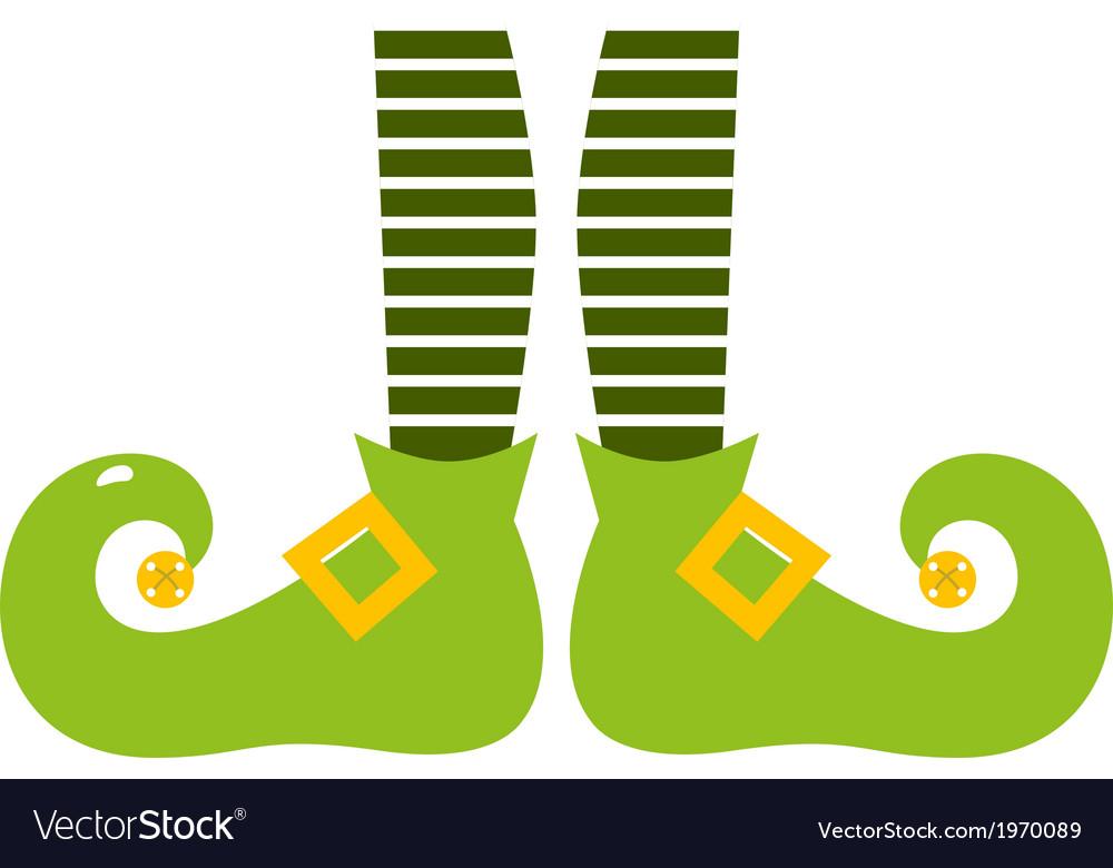 Cute elvish legs for saint patricks day vector | Price: 1 Credit (USD $1)