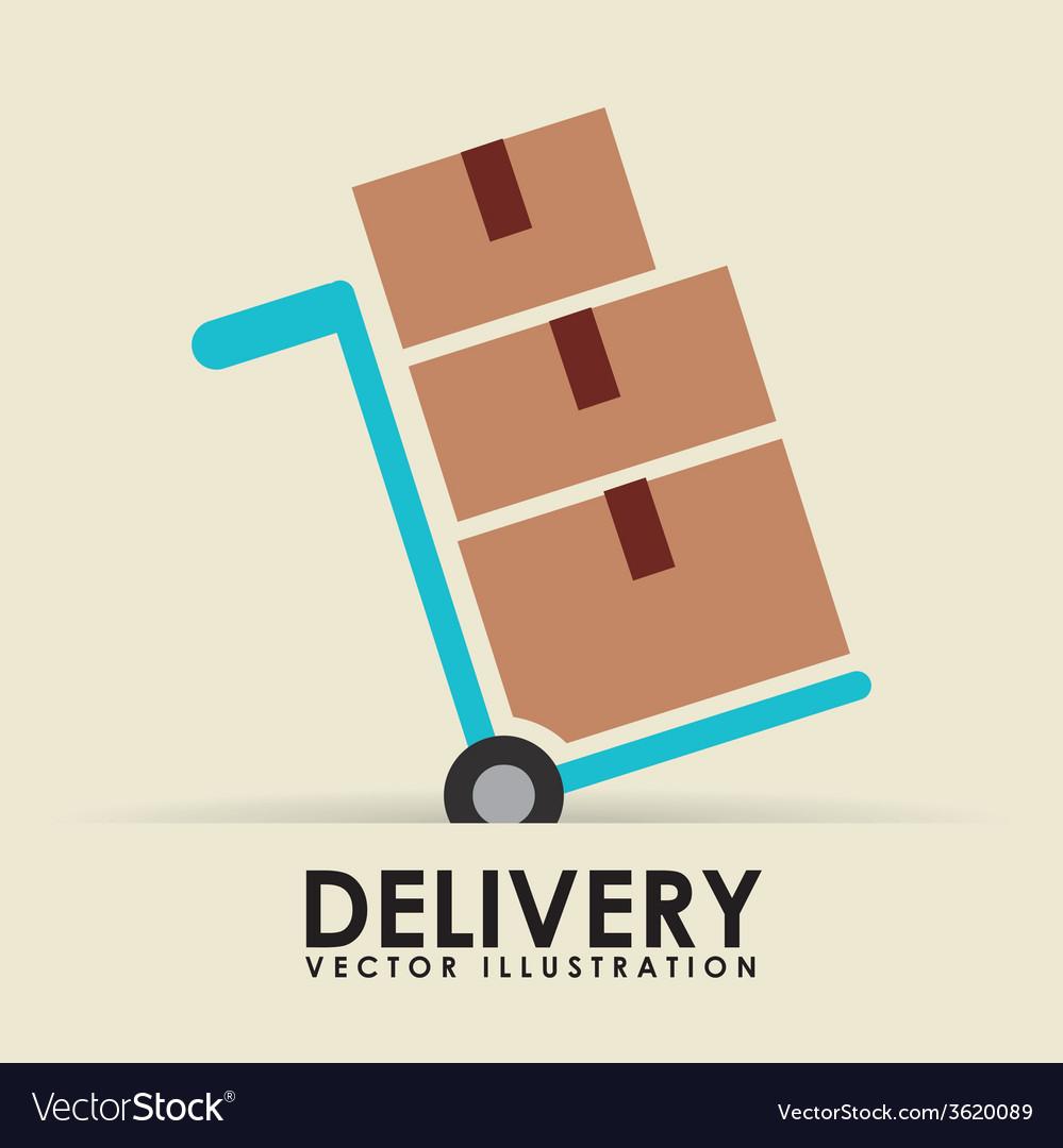 Delivery service vector | Price: 1 Credit (USD $1)