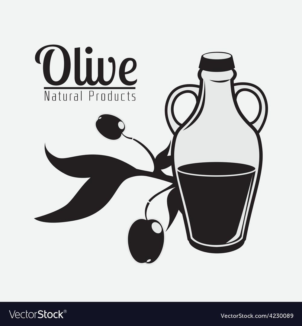 Olive oil design vector   Price: 1 Credit (USD $1)