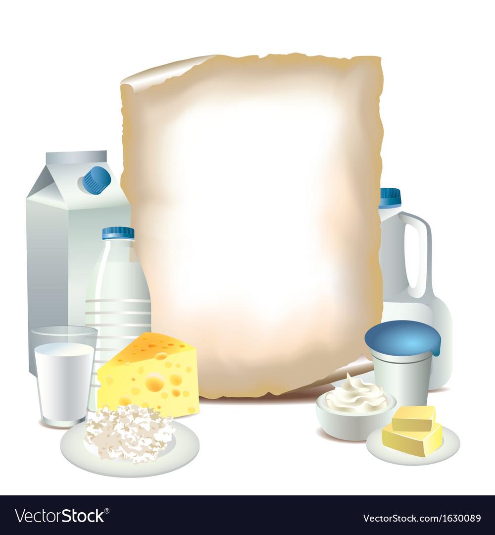 Paper milky vector | Price: 1 Credit (USD $1)
