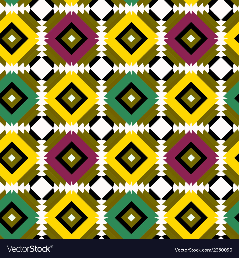 Seamless pattern with indian drawing vector | Price: 1 Credit (USD $1)