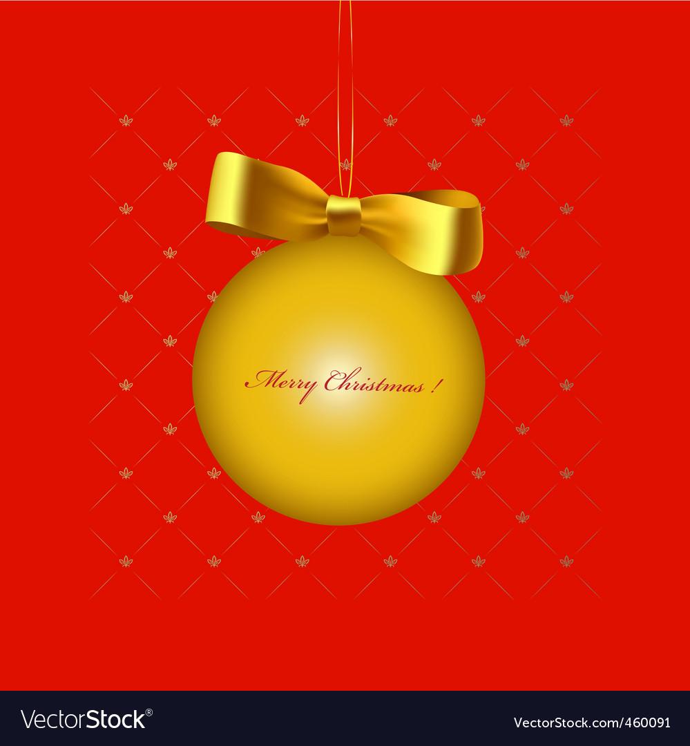 Christmas print vector