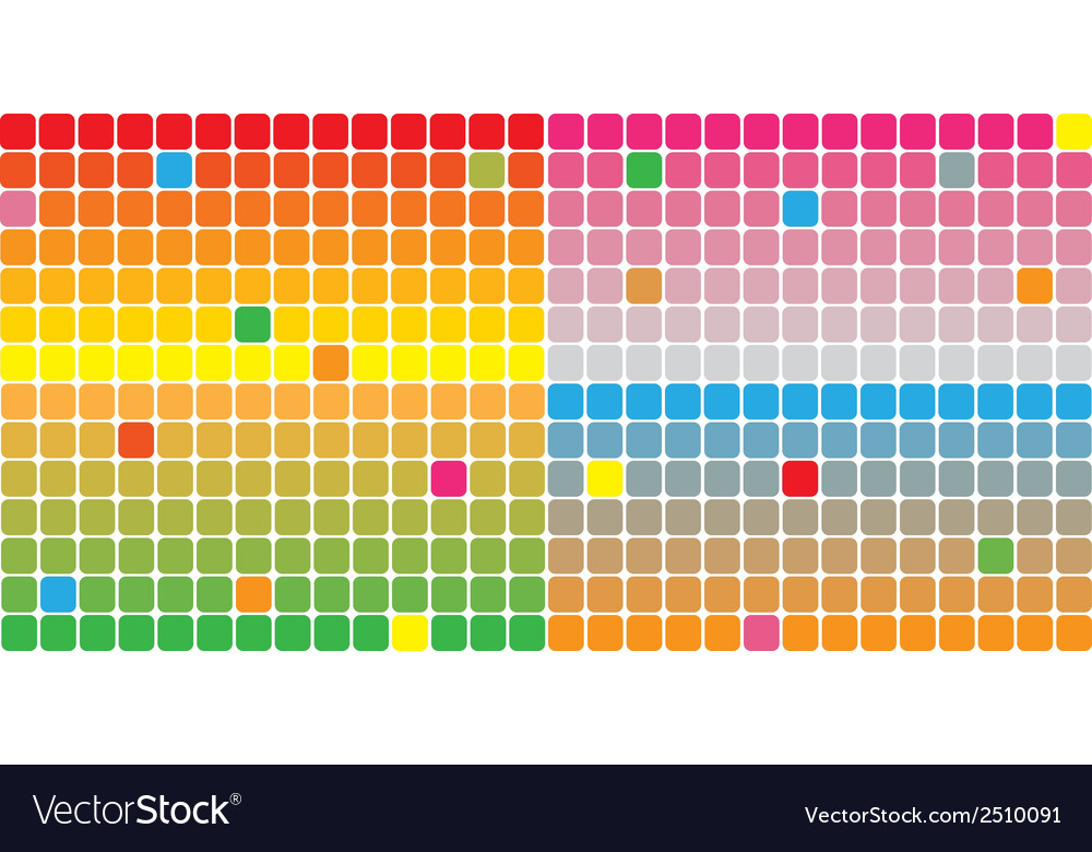 Color squares background vector | Price: 1 Credit (USD $1)