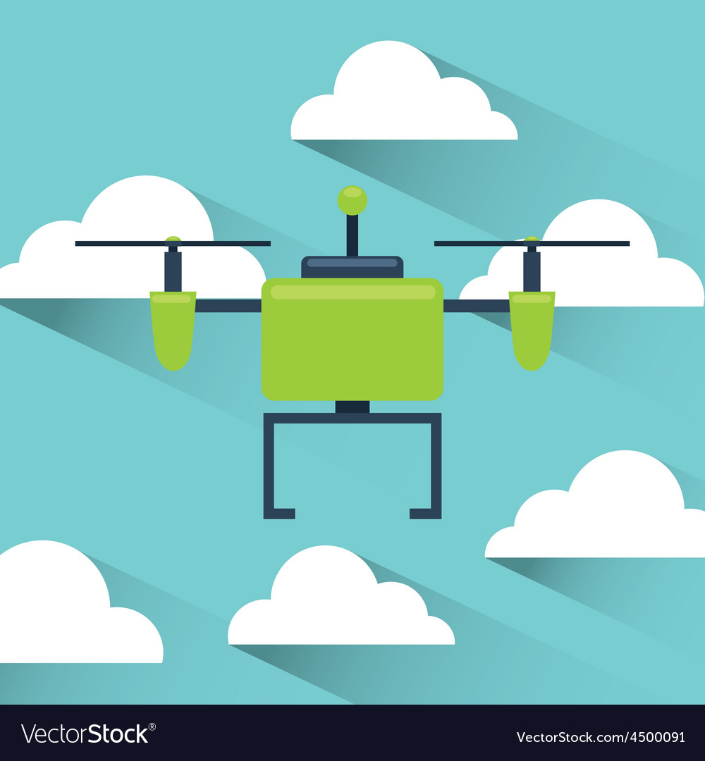 Drone technology vector   Price: 1 Credit (USD $1)