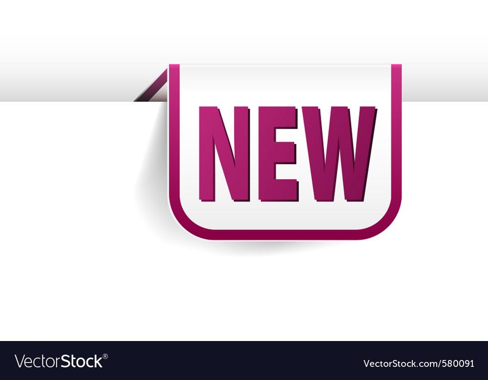 Rectangle bookmark vector | Price: 1 Credit (USD $1)