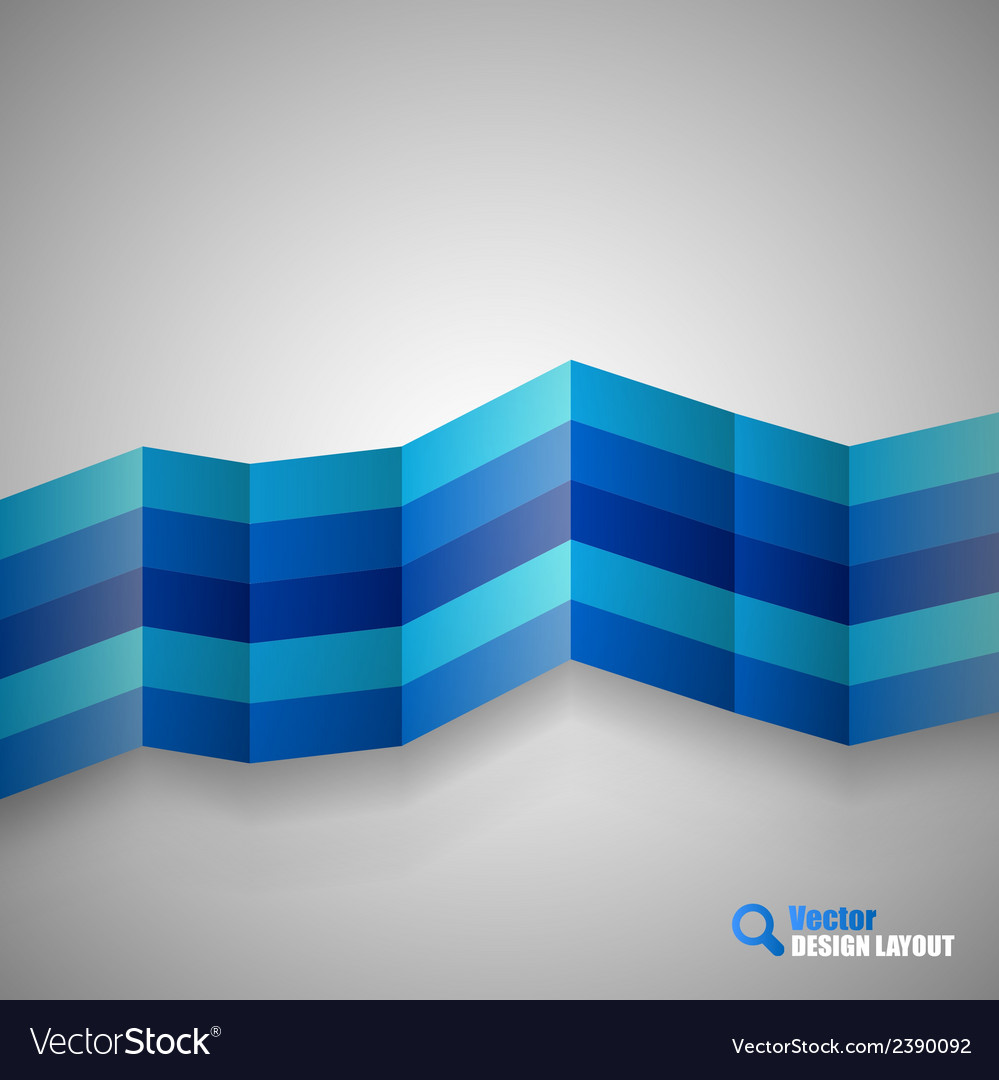 Blue stripes vector | Price: 1 Credit (USD $1)
