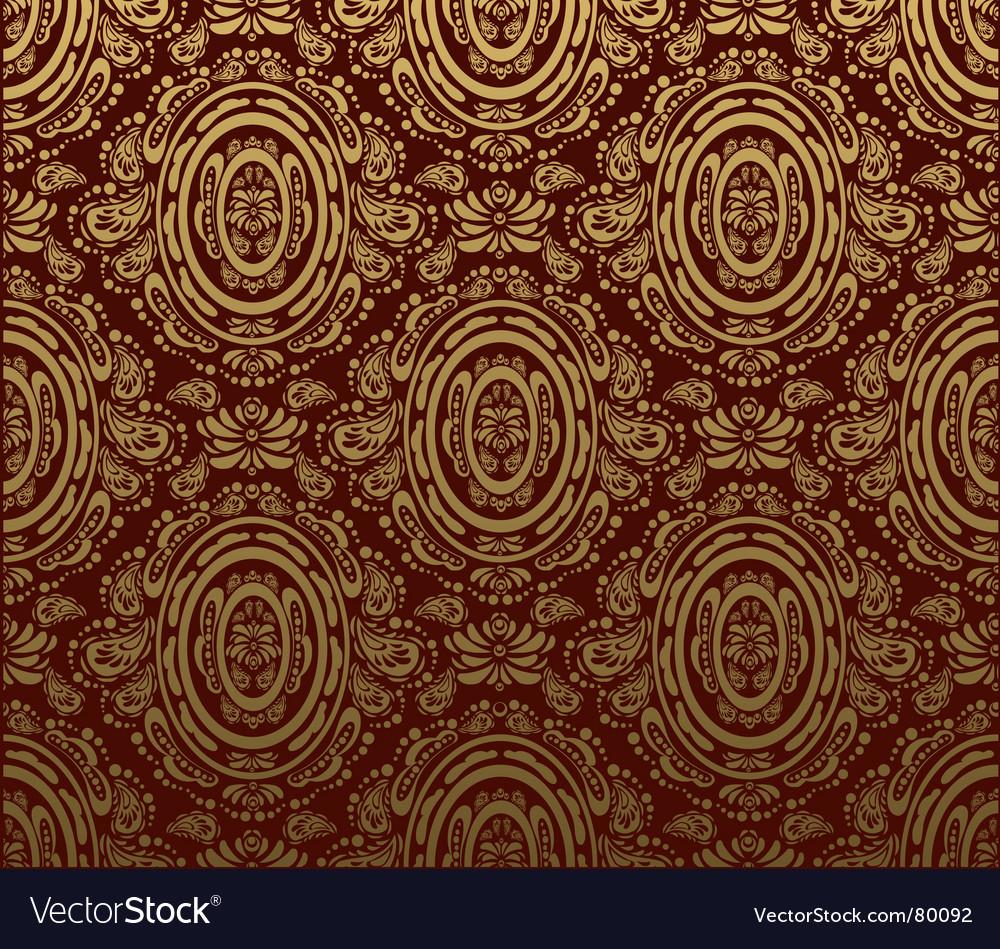 Decorative seamless floral ornament vector   Price: 1 Credit (USD $1)
