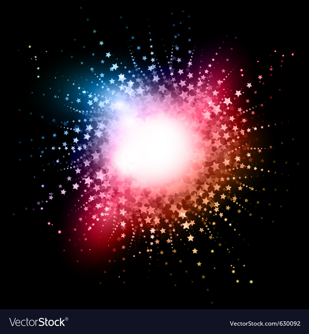 Star burst effect vector | Price: 1 Credit (USD $1)