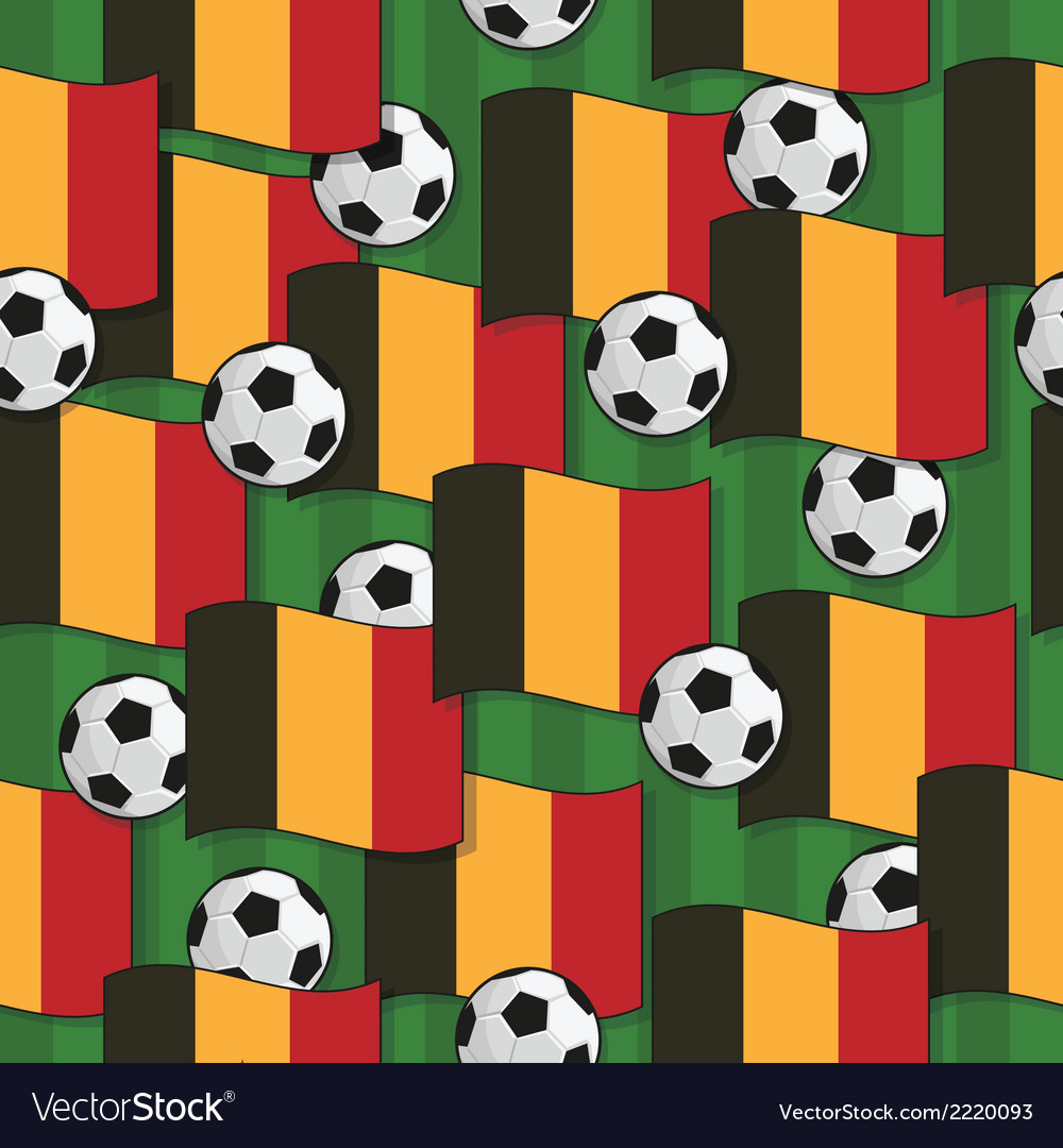 Belgium football pattern vector | Price: 1 Credit (USD $1)