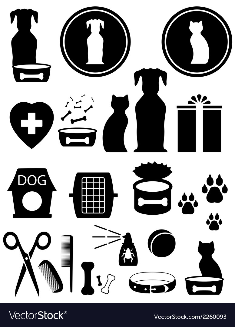 Set goods for pet vector | Price: 1 Credit (USD $1)