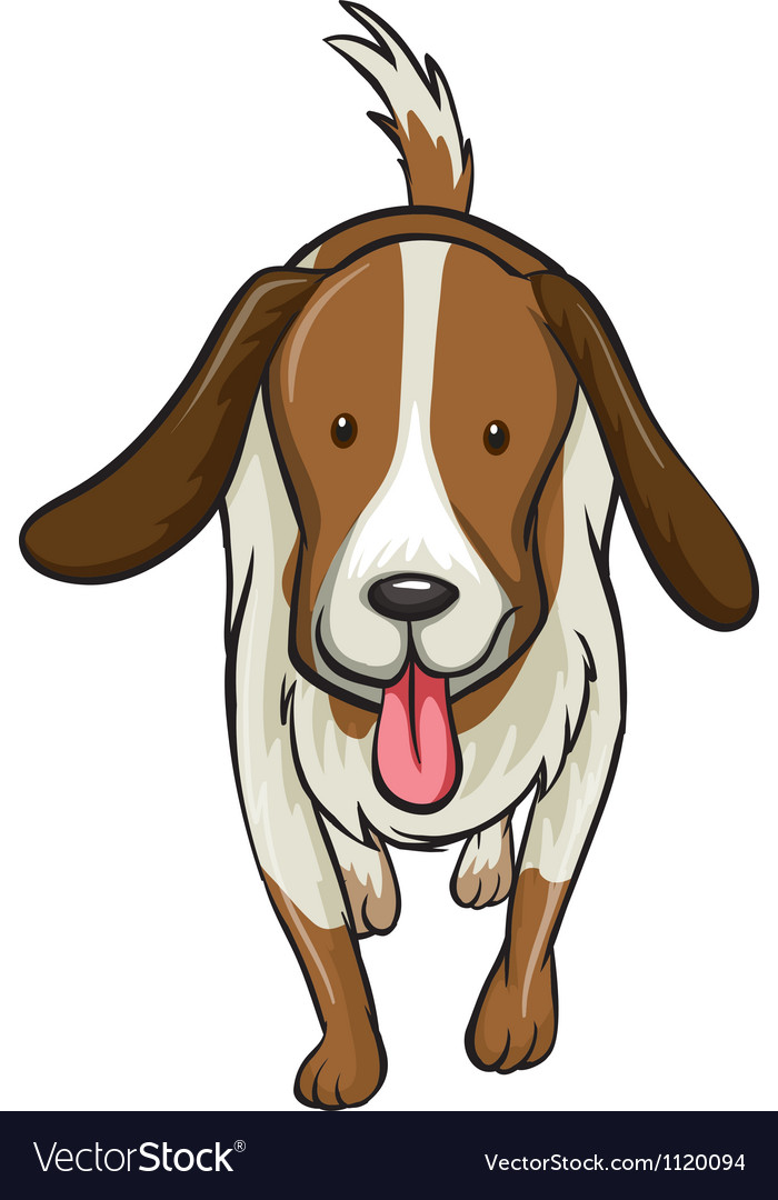A dog vector | Price: 1 Credit (USD $1)