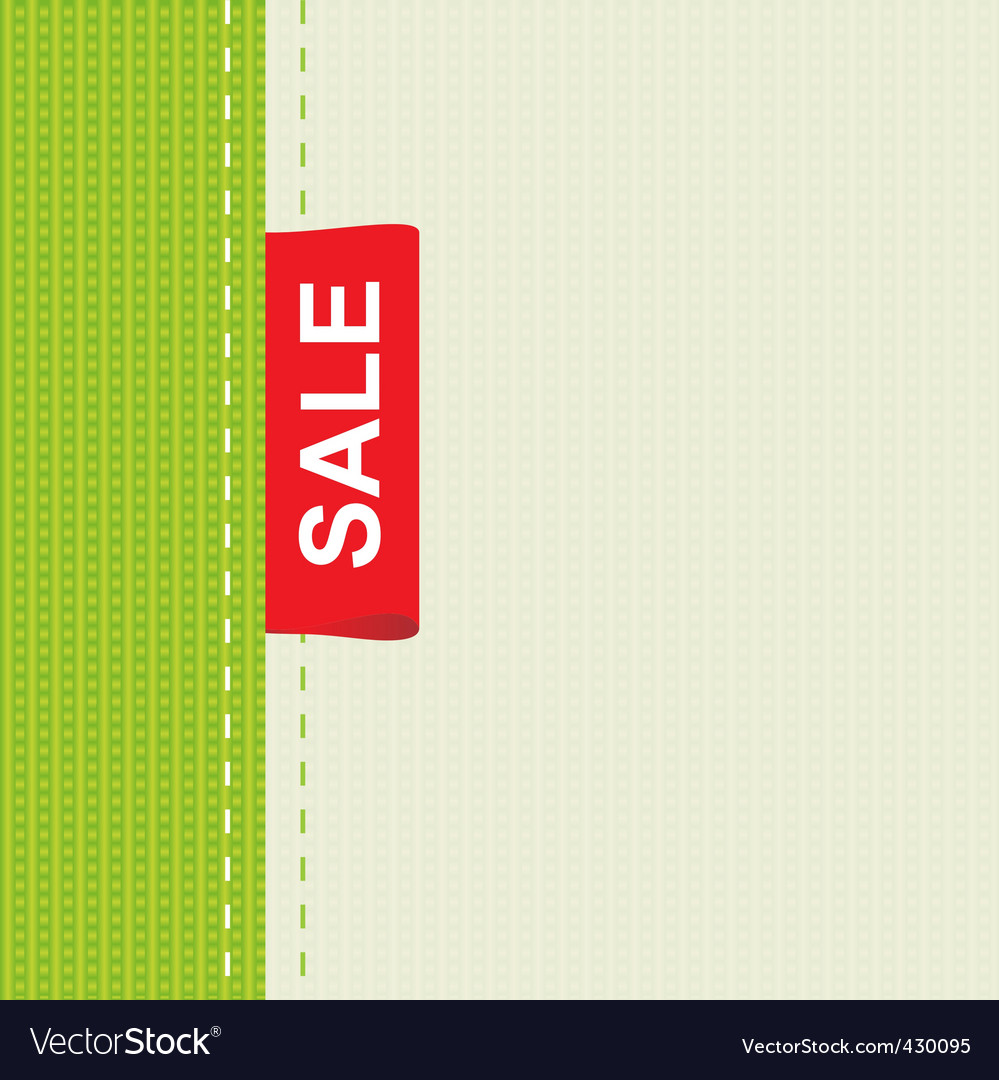 Cloth sale vector | Price: 1 Credit (USD $1)