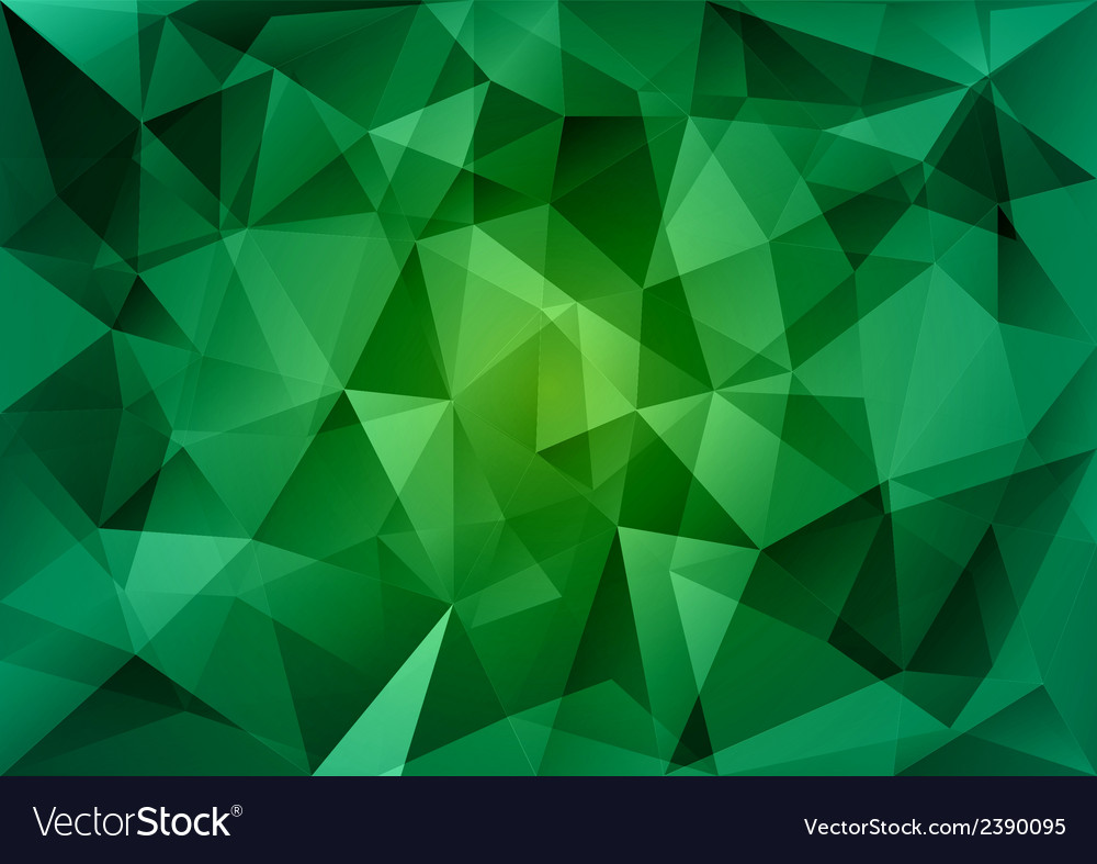 Green triangles vector | Price: 1 Credit (USD $1)