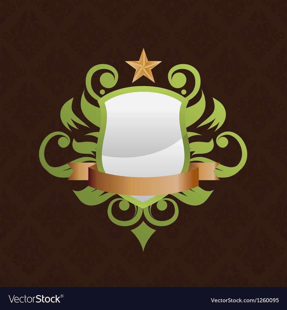 Shield-decorative vector | Price: 1 Credit (USD $1)