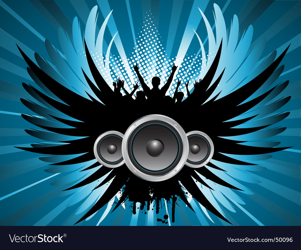 Grunge music vector | Price: 1 Credit (USD $1)