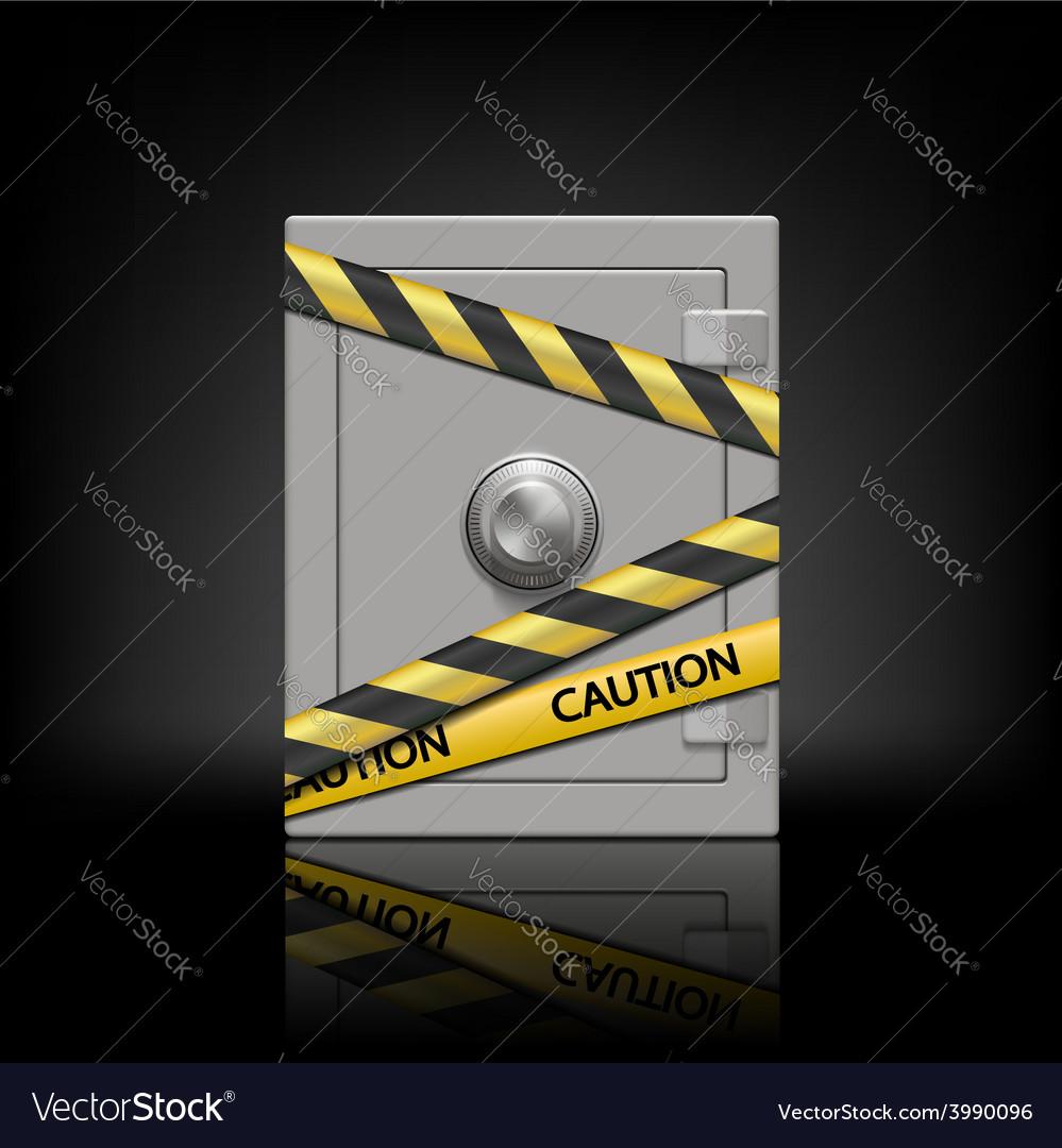 Metal safe vector | Price: 1 Credit (USD $1)