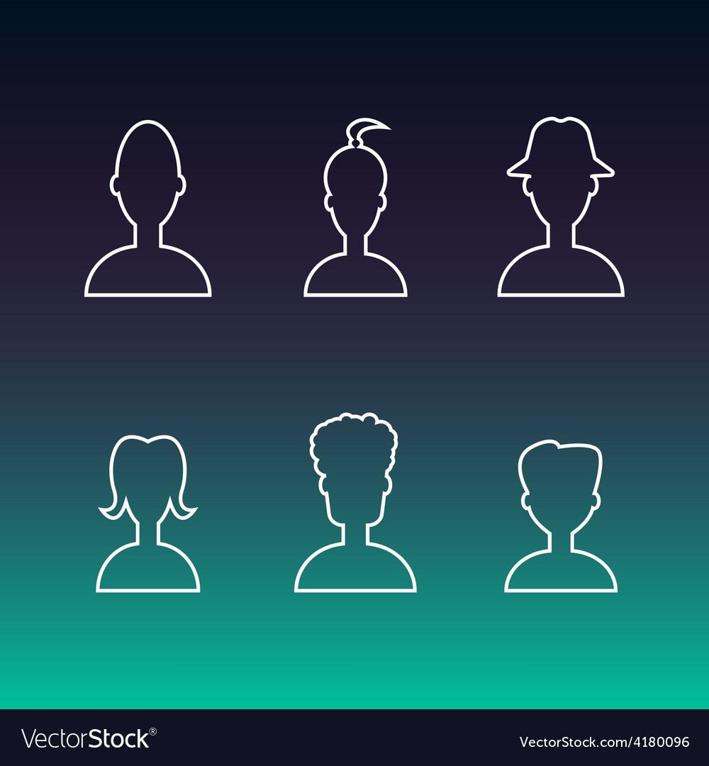 Profile icon vector | Price: 1 Credit (USD $1)