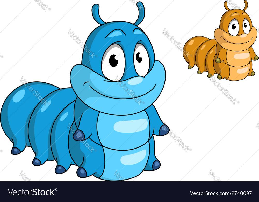 Cartoon caterpillar insect vector   Price: 1 Credit (USD $1)