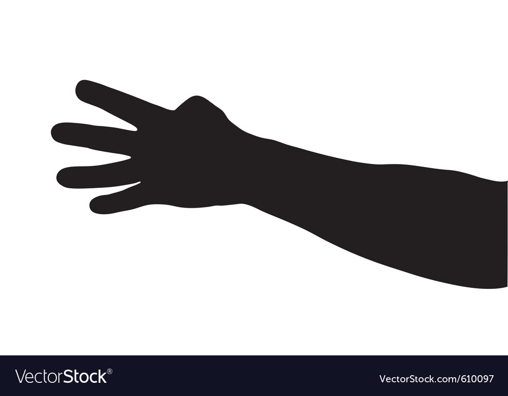 Hand shadows vector | Price: 1 Credit (USD $1)