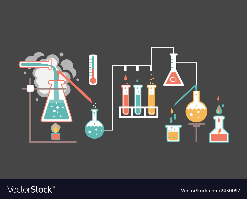Medical laboratory infographics vector | Price: 1 Credit (USD $1)