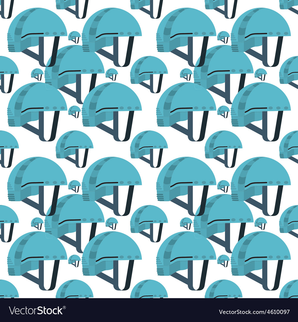 Seamless background for blue helmet vector | Price: 1 Credit (USD $1)