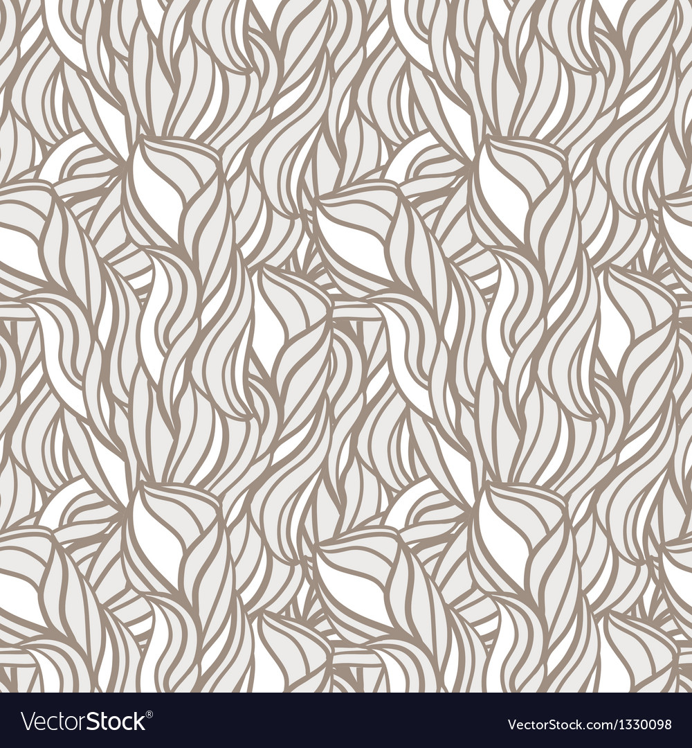 Abstract pattern with curl and swirl vector | Price: 1 Credit (USD $1)