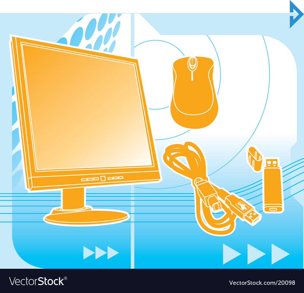 Computer technology vector | Price: 3 Credit (USD $3)