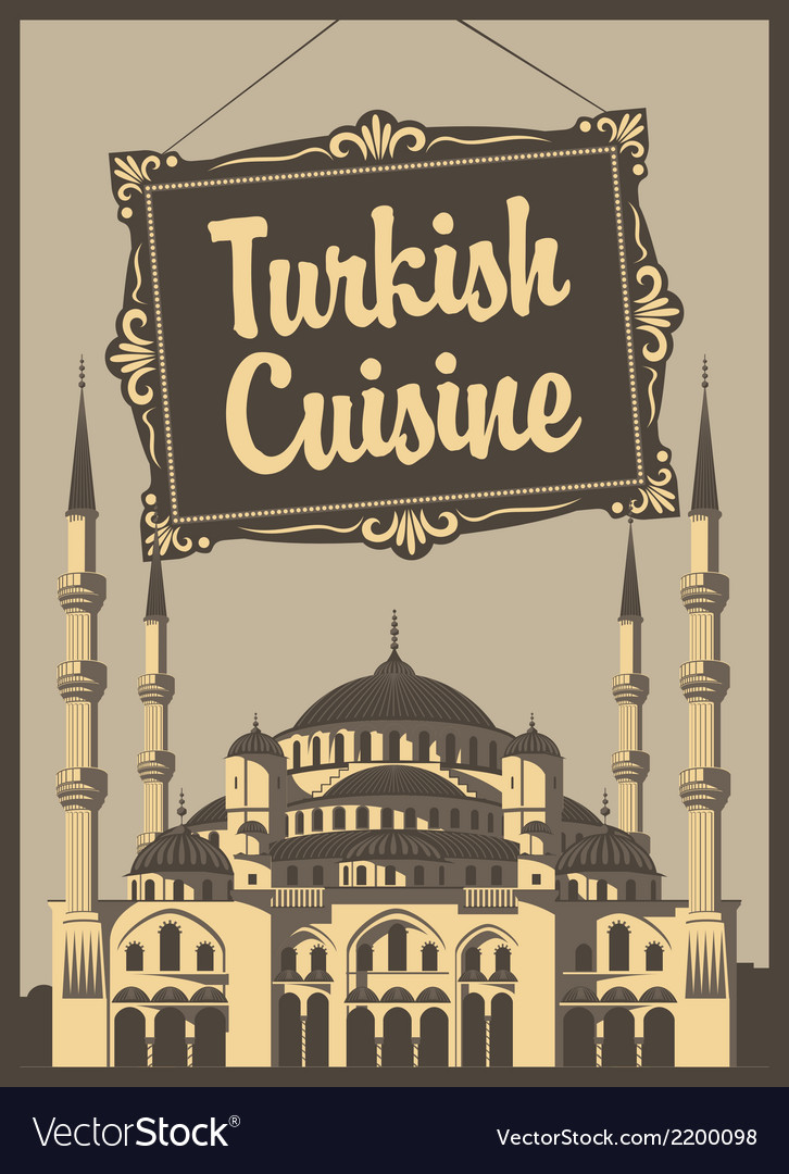 Turkish cuisine vector | Price: 1 Credit (USD $1)
