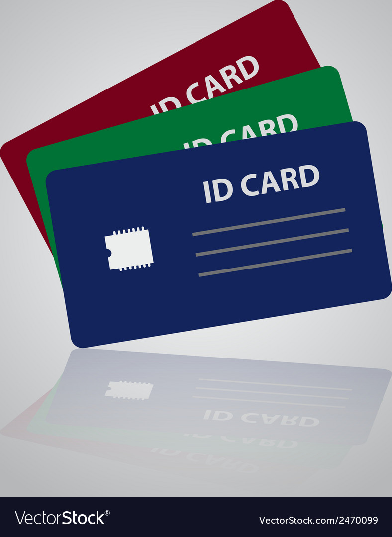 Color id cards eps10 vector | Price: 1 Credit (USD $1)