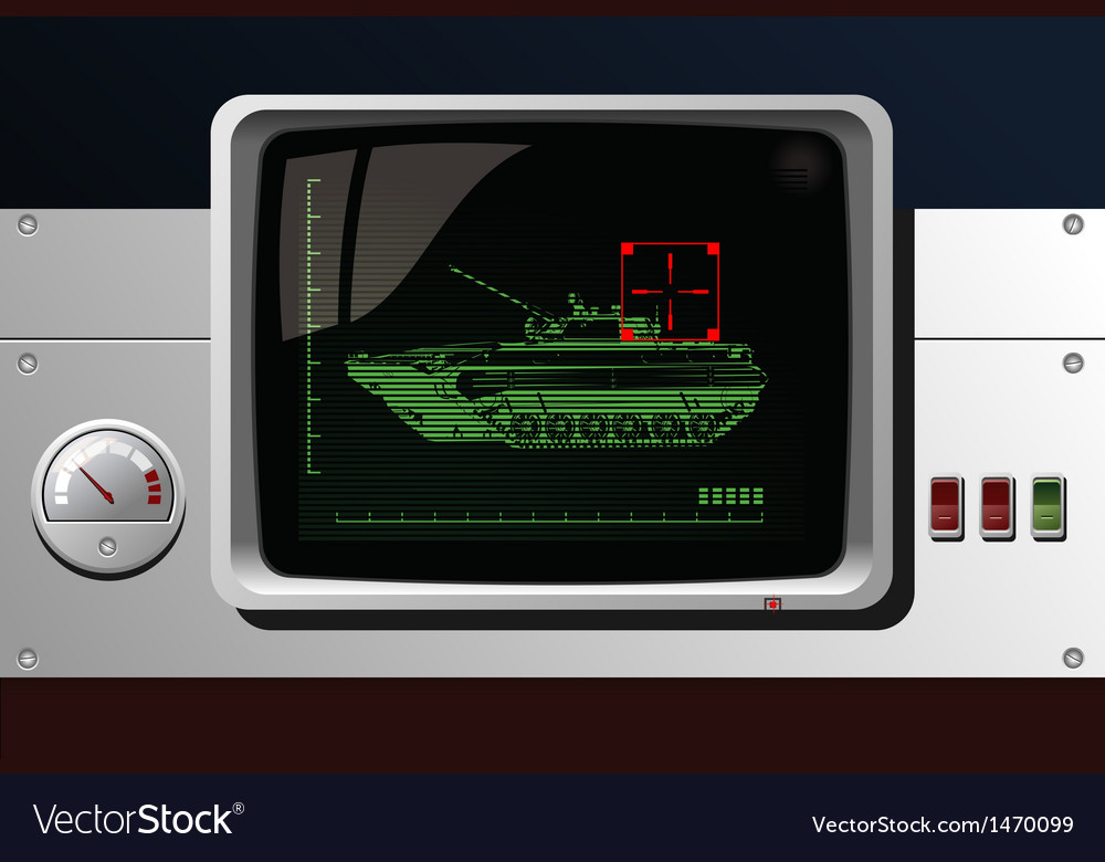 Display of radar vector | Price: 1 Credit (USD $1)