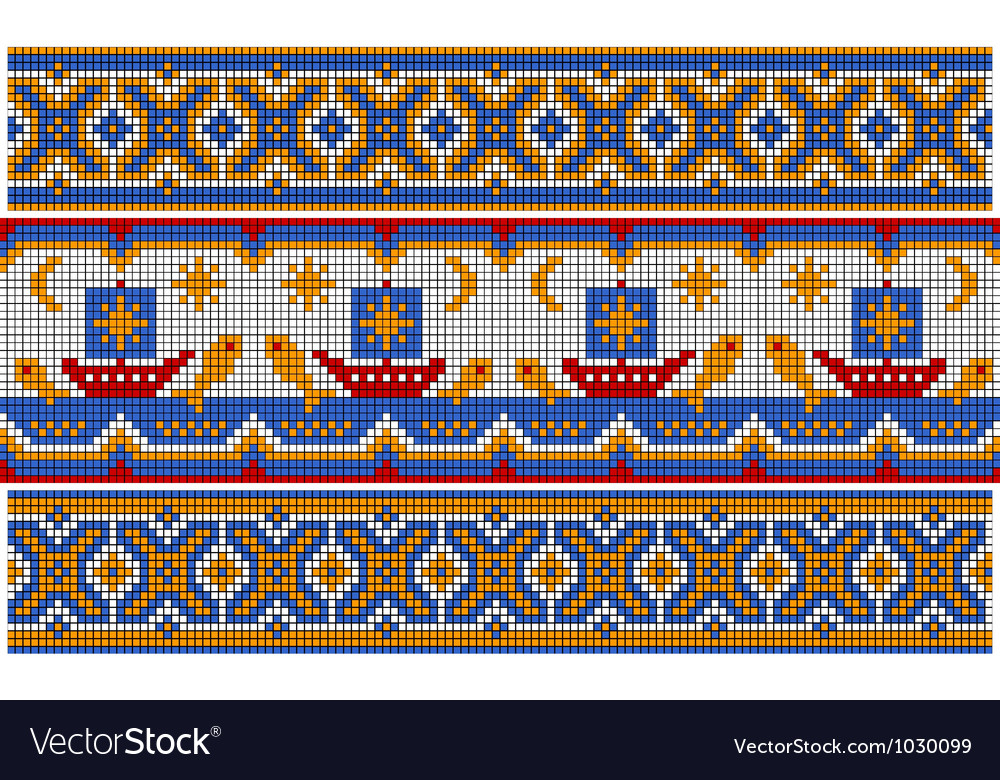 Old ethnic ornament vector | Price: 1 Credit (USD $1)