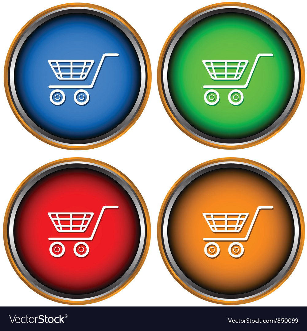 Set from four icons a buy vector | Price: 1 Credit (USD $1)
