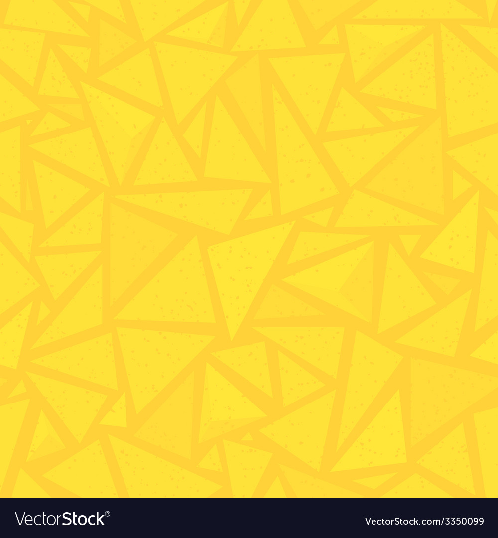 Sharp shapes yellow triangles vector | Price: 1 Credit (USD $1)