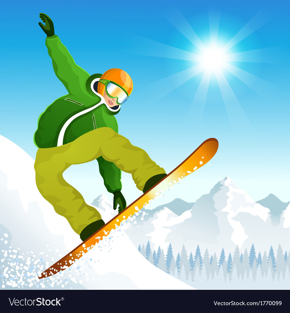 Winter sports vector | Price: 3 Credit (USD $3)