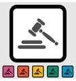 Auction icon vector