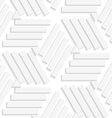 Lines and triangles seamless vector