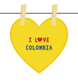 I love colombia6 vector