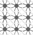 White rhombuses on gray ornament vector