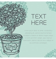 Vintage styled background vector