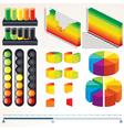 Infographics elements vector