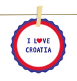 I love croatia4 vector