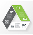 Triangle infographic template for diagram graph vector