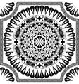 Black pattern of spirals swirls and chains vector