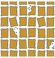 Biscuit background vector