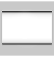 Projector screen sign vector