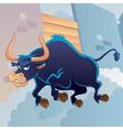 Angry bull vector
