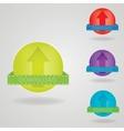 Download button web design element vector