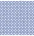 Tile pattern white polka dots on blue background vector