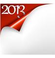 Christmas new year card 2013 vector